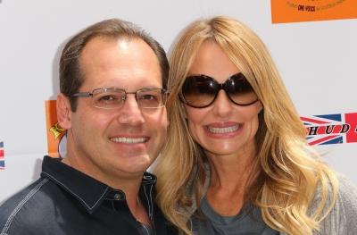 Russell Armstrong and Taylor Armstrong attend the Fifth Annual Kidstock Music and Arts Festival at Greystone Mansion in Beverly Hills, Calif., on June 5, 2011 -- Getty Images