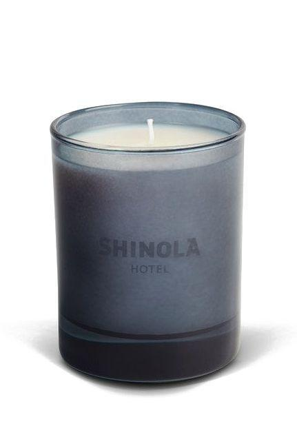 """<p><strong>Shinola</strong></p><p>shinola.com</p><p><strong>$48.00</strong></p><p><a href=""""https://www.shinola.com/supply/all/shinola-hotel-candle.html"""" rel=""""nofollow noopener"""" target=""""_blank"""" data-ylk=""""slk:Shop Now"""" class=""""link rapid-noclick-resp"""">Shop Now</a></p><p>""""After a long stay at the Shinola Hotel in Detroit this fall, I fell in love with its signature candle which smells like leather, smoke, and cherry blossoms. It's warm, inviting, but very cool and trendy. It reminds me of feeling safe and taken care of, and amidst a lot of beautifully crafted stuff I want to buy. It also has an excellent throw."""" —<em>Katie Becker, beauty director</em></p>"""