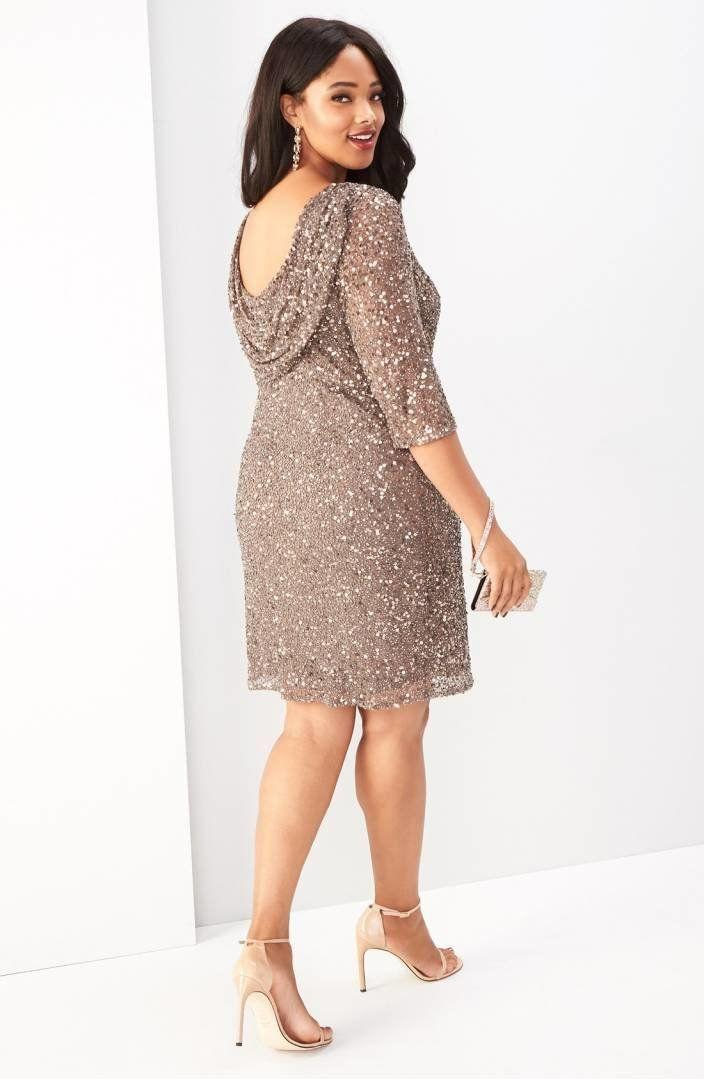 "From <a href=""https://shop.nordstrom.com/s/pisarro-nights-draped-back-beaded-dress-plus-size/3476055?origin=category-personalizedsort&fashioncolor=MOCHA"" target=""_blank"">Nordstrom</a>. Comes up to a size 24W."