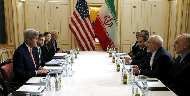 U.S. Secretary of State Kerry meets Iranian Foreign Minister Zarif in Vienna