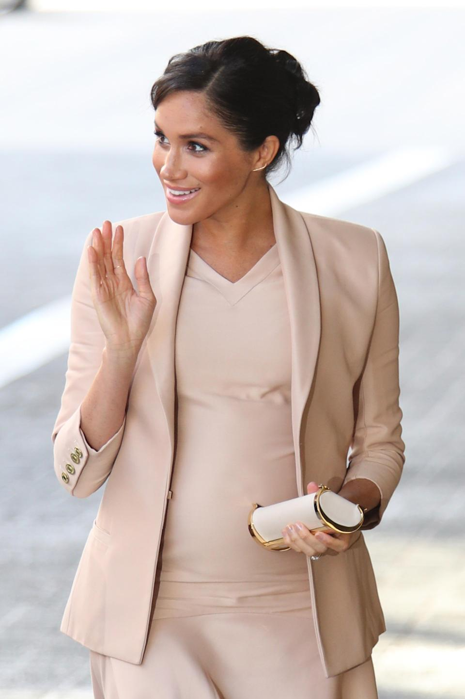 The Duchess of Sussex is rumoured to be hiring a doula to help support her through pregnancy and birth [Photo: Getty]