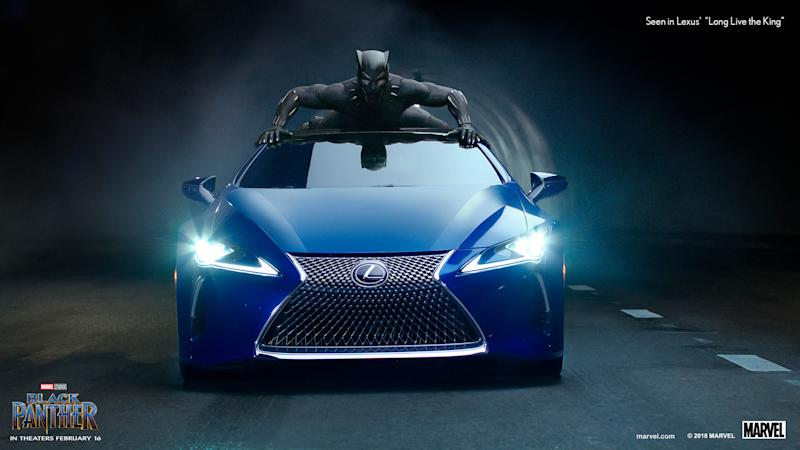 Lexus Partners With Black Panther To Drive Sales