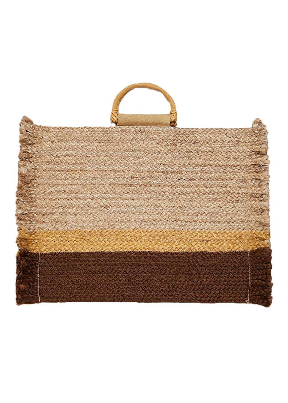 """<p>Roomy enough to carry around your water bottle, sunglasses and a stash of books, this natural tote bag has all feeling all kinds of excited for summer. <a href=""""https://www.zara.com/uk/en/natural-tote-bag-p02571007.html?v1=8127540&v2=1180464"""" rel=""""nofollow noopener"""" target=""""_blank"""" data-ylk=""""slk:Shop now"""" class=""""link rapid-noclick-resp"""">Shop now</a>. </p>"""