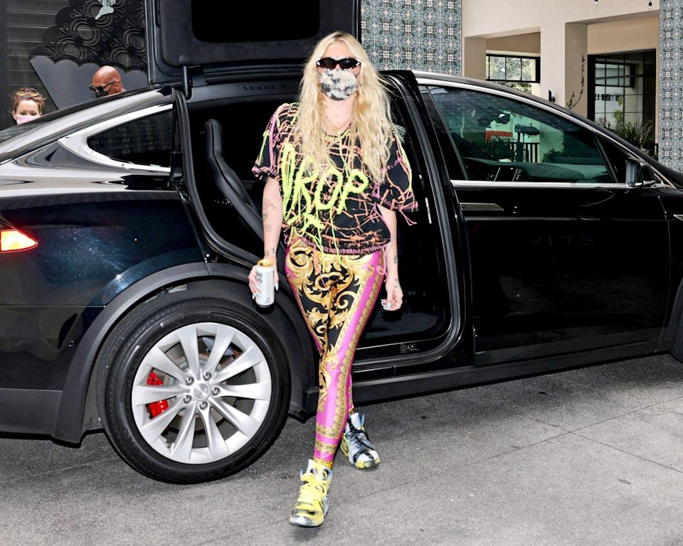 <p>Kesha attends the EON Mist Sanitizer Pre-Oscars Lounge presented by GBK Brand Bar at La Peer Hotel in Los Angeles on Saturday.</p>