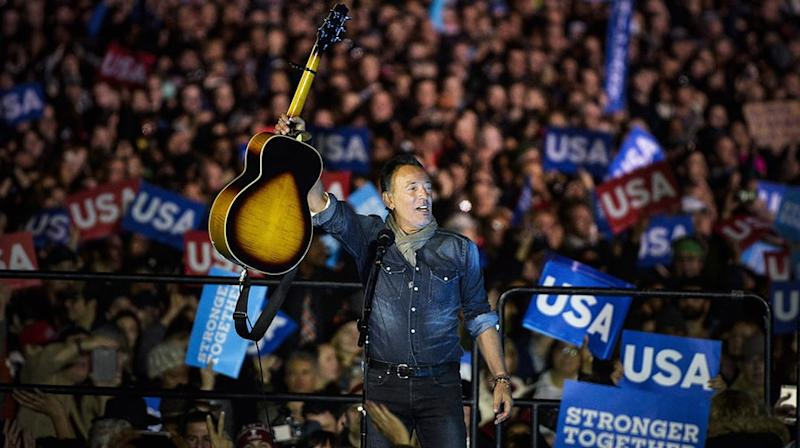 Bruce Springsteen Bashes Trump in New Protest Song