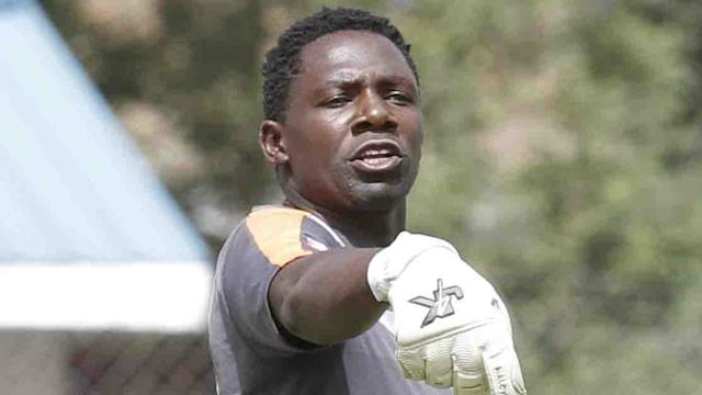 Keeper Boniface Oluoch will write history if he features in Saturday's Caf Champions League match at Machakos Stadium