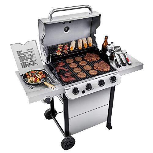 """<p><strong>Char-Broil</strong></p><p>amazon.com</p><p><strong>$299.99</strong></p><p><a href=""""https://www.amazon.com/dp/B07JZV24HV?tag=syn-yahoo-20&ascsubtag=%5Bartid%7C10070.g.35270327%5Bsrc%7Cyahoo-us"""" rel=""""nofollow noopener"""" target=""""_blank"""" data-ylk=""""slk:Shop Now"""" class=""""link rapid-noclick-resp"""">Shop Now</a></p><p>Cooking outside is one of the best parts of spring. Load up the grill with some fresh, local veggies or your <a href=""""https://www.womansday.com/food-recipes/food-drinks/recipes/a53327/greek-turkey-burgers/"""" rel=""""nofollow noopener"""" target=""""_blank"""" data-ylk=""""slk:favorite burger recipe"""" class=""""link rapid-noclick-resp"""">favorite burger recipe</a> and enjoy the experience.</p>"""