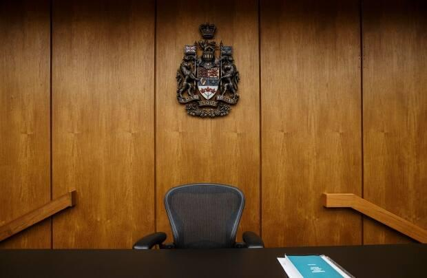 The court met Friday morning to select a jury for a trial set to take place Monday.  (Jason Franson/The Canadian Press - image credit)
