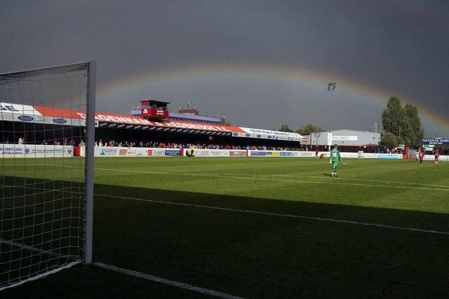 Fans have not seen Dagenham's Victoria Road for some time