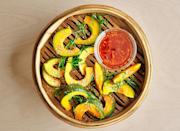 """<a href=""""https://www.bonappetit.com/recipe/steamed-kabocha-with-ginger-soy-dressing?mbid=synd_yahoo_rss"""" rel=""""nofollow noopener"""" target=""""_blank"""" data-ylk=""""slk:See recipe."""" class=""""link rapid-noclick-resp"""">See recipe.</a>"""