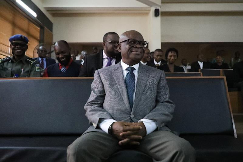 Former chief justice Walter Onnoghen was banned from holding office for 10 years in a case the opposition said was politically motivated