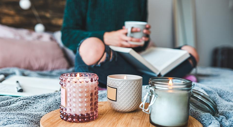 Candles are not only a decoration but help to boost our mood too.  (Getty Images)