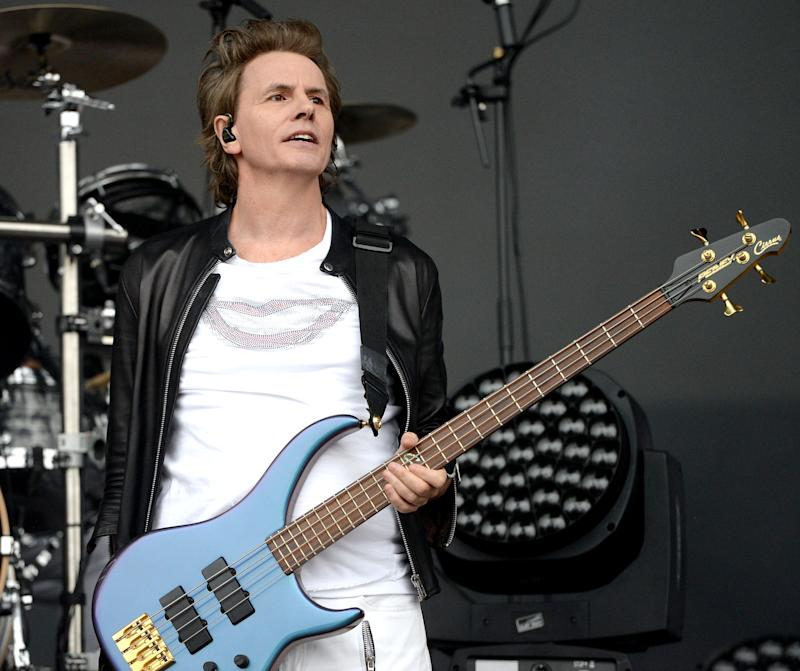 John Taylor onstage with Duran Duran in 2016. (Photo: Getty Images)