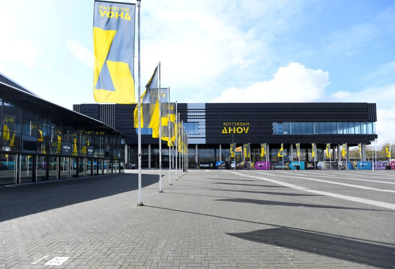 FILE PHOTO: General view of the Ahoy arena in Rotterdam