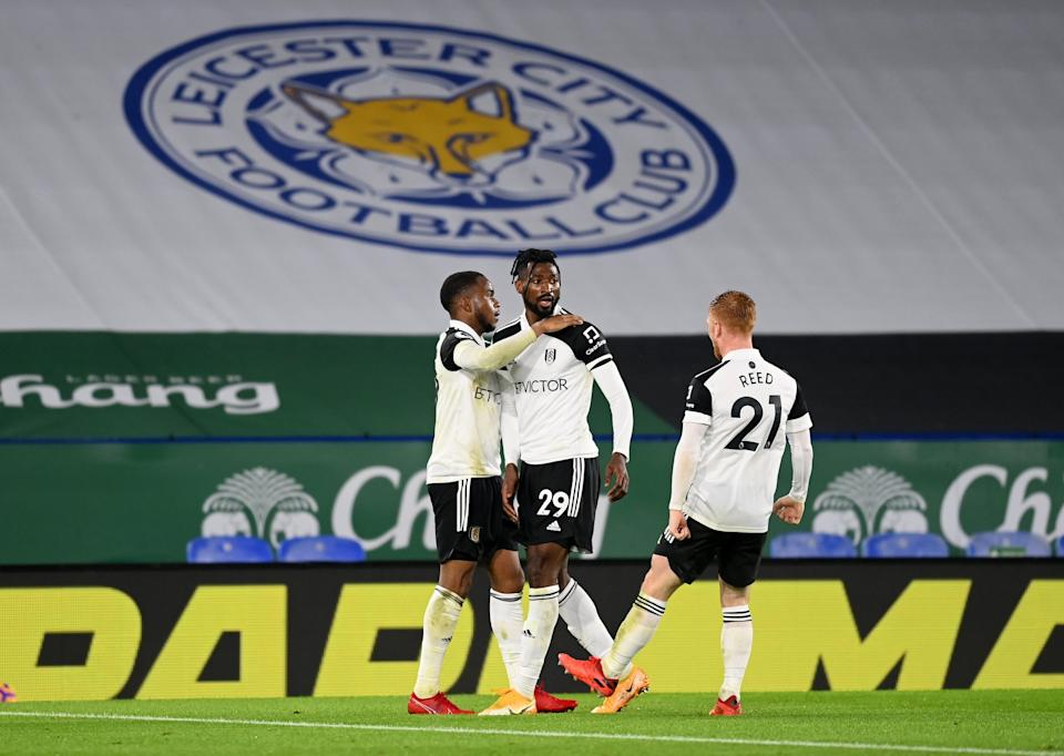 <p>Fulham won at Leicester on Monday night</p>Getty Images