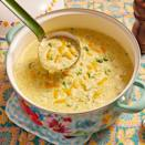 """<p>All you need after making this rich soup is a big piece of bread for dipping.</p><p><a href=""""https://www.thepioneerwoman.com/food-cooking/recipes/a10393/broccoli-cheese-soup/"""" rel=""""nofollow noopener"""" target=""""_blank"""" data-ylk=""""slk:Get the recipe."""" class=""""link rapid-noclick-resp""""><strong>Get the recipe.</strong></a></p><p><a class=""""link rapid-noclick-resp"""" href=""""https://go.redirectingat.com?id=74968X1596630&url=https%3A%2F%2Fwww.walmart.com%2Fsearch%2F%3Fquery%3Ddutch%2Boven&sref=https%3A%2F%2Fwww.thepioneerwoman.com%2Ffood-cooking%2Fmeals-menus%2Fg32933285%2Fcomfort-food-recipes%2F"""" rel=""""nofollow noopener"""" target=""""_blank"""" data-ylk=""""slk:SHOP DUTCH OVENS"""">SHOP DUTCH OVENS</a></p>"""