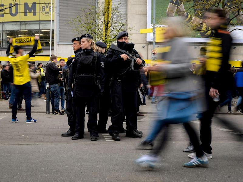 The attacker of the Dortmund team bus tried to put the blame on Islamist extremism: Getty
