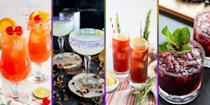 """<p>As anyone who has ever traveled to New Orleans for its notoriously raucous Fat Tuesday festivities will tell you: No Mardi Gras celebration is complete without <a href=""""https://www.oprahmag.com/life/g30430765/mardi-gras-traditions/"""" rel=""""nofollow noopener"""" target=""""_blank"""" data-ylk=""""slk:glittery masks, colorful parades, beaded necklaces"""" class=""""link rapid-noclick-resp"""">glittery masks, colorful parades, beaded necklaces</a> (in purple, green, and gold, of course), <a href=""""https://www.oprahmag.com/life/food/a30420768/what-is-king-cake/"""" rel=""""nofollow noopener"""" target=""""_blank"""" data-ylk=""""slk:sugar-coated king cake"""" class=""""link rapid-noclick-resp"""">sugar-coated king cake</a>—and lots of extravagant drinks.</p><p>That's because while the Big Easy is the birthplace of many brag-worthy things—Cafe du Monde, jazz music, and Reese Witherspoon, to name a few—its greatest claim to fame may be that many of the most enduring drinks were invented in New Orleans, including the nearly two-centuries-old Sazerac, the crowd-pleasing Ramos Gin Fizz, and the famously fruity Hurricane (which also happens to be the unofficial drink of Mardi Gras).</p><p>And while Mardi Gras in New Orleans will look very different this year (all official parades <a href=""""https://www.washingtonpost.com/travel/2020/11/17/new-orleans-mardi-gras-parades-covid/"""" rel=""""nofollow noopener"""" target=""""_blank"""" data-ylk=""""slk:have been cancelled"""" class=""""link rapid-noclick-resp"""">have been cancelled</a> amid the coronavirus pandemic), the good news is that you can easily get a taste of the action right at home on February 16: Just whip up some of the <a href=""""https://www.oprahmag.com/life/food/a26477441/famous-new-orleans-foods/"""" rel=""""nofollow noopener"""" target=""""_blank"""" data-ylk=""""slk:city's most iconic foods"""" class=""""link rapid-noclick-resp"""">city's most iconic foods</a> (think: grits, biscuits, and beignets), make yourself one the most popular drinks in New Orleans, and turn on the <a href=""""https://www.oprahmag.com/entertain"""