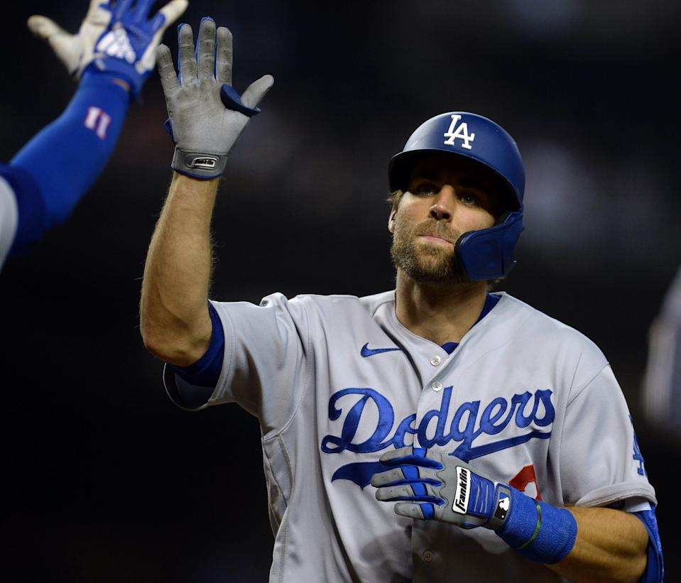 Chris Taylor has played six different positions for the Dodgers this season.