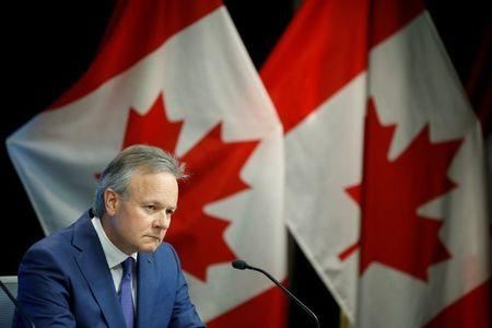 Bank of Canada Governor Stephen Poloz listens to a question during a news conference in Ottawa