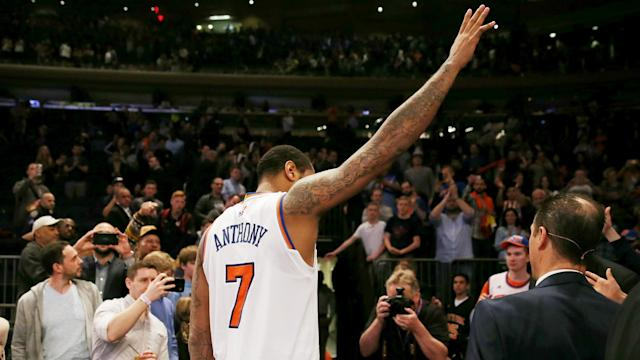 Carmelo Anthony's seven-season spell with the New York Knicks is over following a trade to the Oklahoma City Thunder.