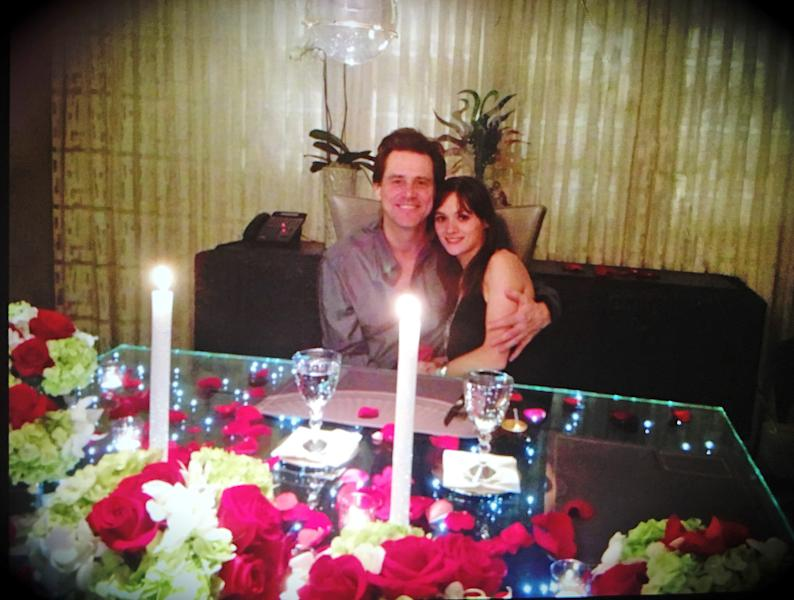 New photos of Jim Carrey and his late girlfriend, Cathriona White, celebrating Valentine's Day together have surfaced amid a wrongful death lawsuit filed by White's estranged husband, Mark Burton — see the pictures