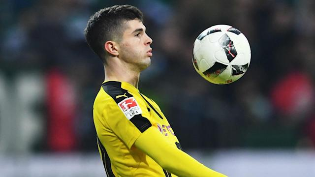 The 18-year-old American made an instant impact in Dortmund's game against Eintracht Frankfurt