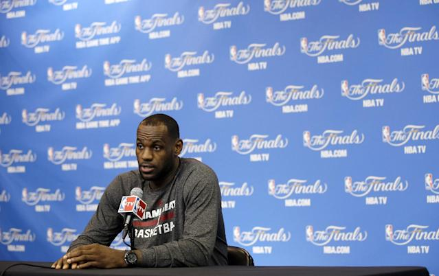 LeBron's status, the science of cramping, and more fallout from a wild NBA Finals opener