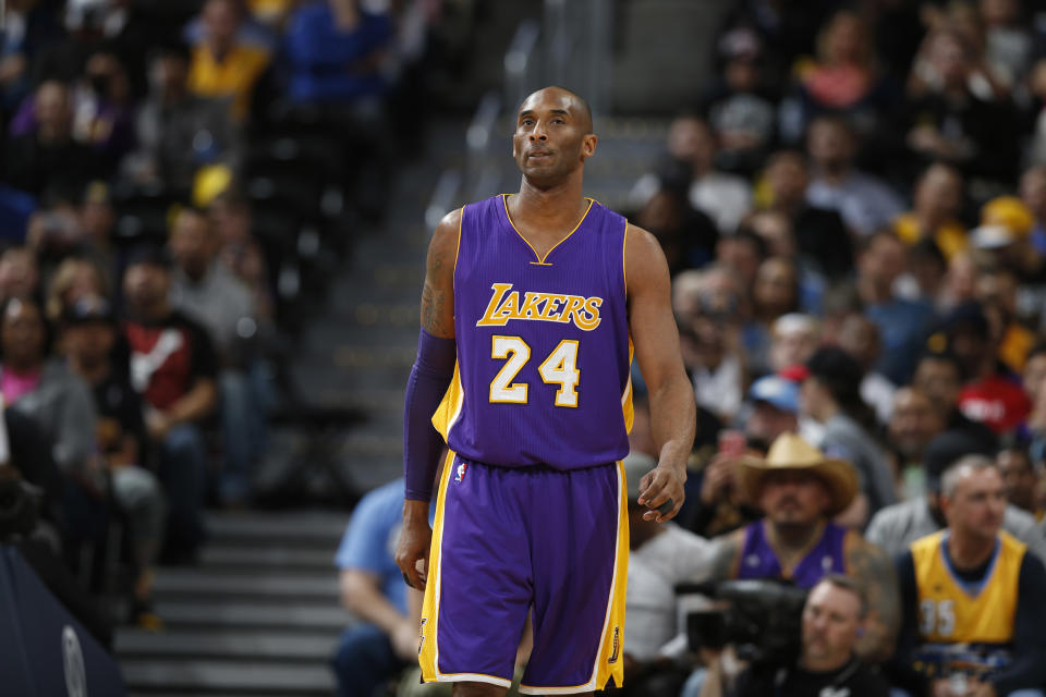 Donald Trump was among those who took to Twitter after Kobe Bryant's death on Sunday.