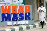 Masks were made compulsory in many Indian states
