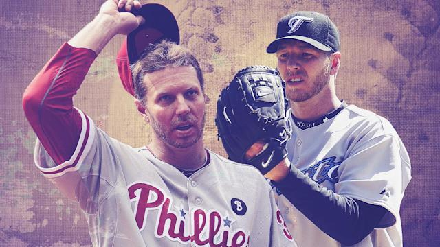 Roy Halladay is confirmed as one of baseball's all-time greats. (Ciaran Breen/YSC/Getty)