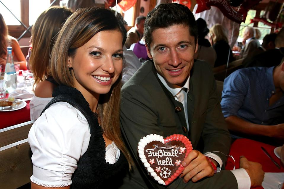 <p>Maybe not a household name outside of Poland, but Robert Lewandowski's wife Anna is a World karate champion and has been married to Robert for five years. </p>