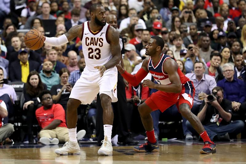 reputable site ab544 261a1 NBA: James pours in 57 as Cavs topple Wizards