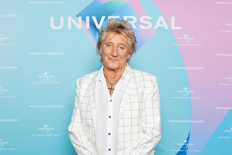 """<p>The iconic English rock singer was diagnosed with <a href=""""https://www.prevention.com/health/a20460229/thyroid-cancer-symptoms/"""" rel=""""nofollow noopener"""" target=""""_blank"""" data-ylk=""""slk:thyroid cancer"""" class=""""link rapid-noclick-resp"""">thyroid cancer</a> during a routine checkup. According to the <a href=""""https://oralcancerfoundation.org/people/arts-entertainment/rod-stewart/"""" rel=""""nofollow noopener"""" target=""""_blank"""" data-ylk=""""slk:Oral Cancer Foundation"""" class=""""link rapid-noclick-resp"""">Oral Cancer Foundation</a>, Stewart is now in remission, but remains a big supporter of the City of Hope Foundation, which works to improve treatments for all types of cancer.</p>"""