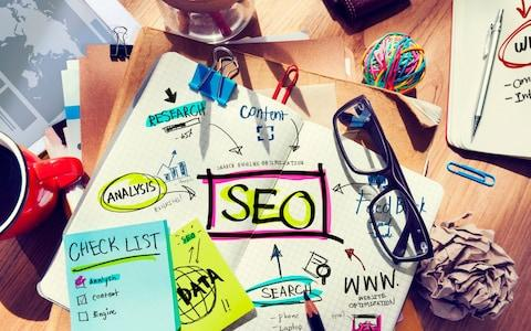 Desk with Notes About SEO - Credit: iStockphoto
