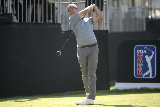 Instead of rejoining the PGA Tour on June 11, Adam Scott is planning to wait. (AP/Phelan M. Ebenhack)