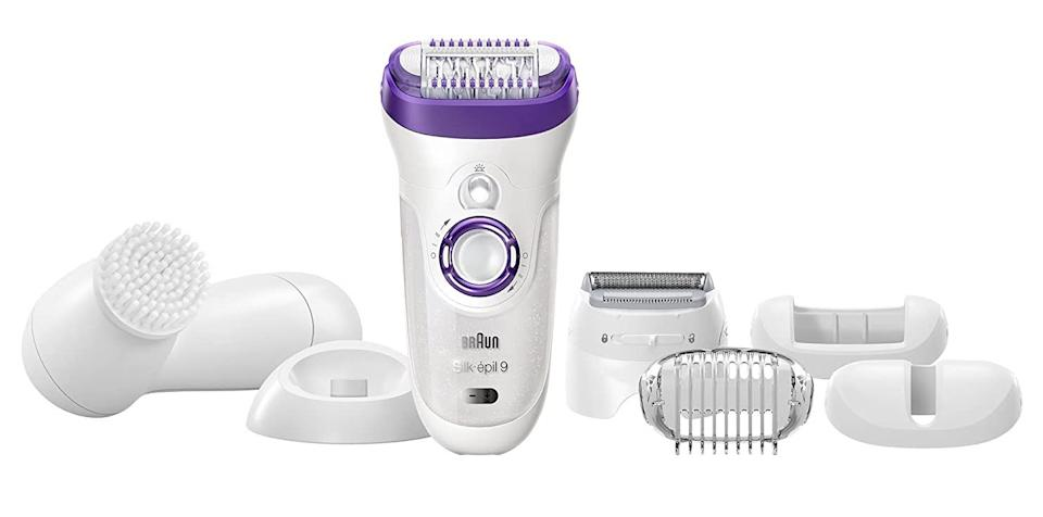 This little epilator can also be a regular shaver and a trimmer. (Photo: Amazon)