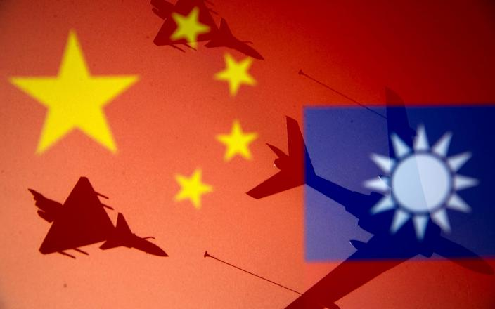 China and Taiwan are ruled separately - REUTERS/Dado Ruvic/Illustration