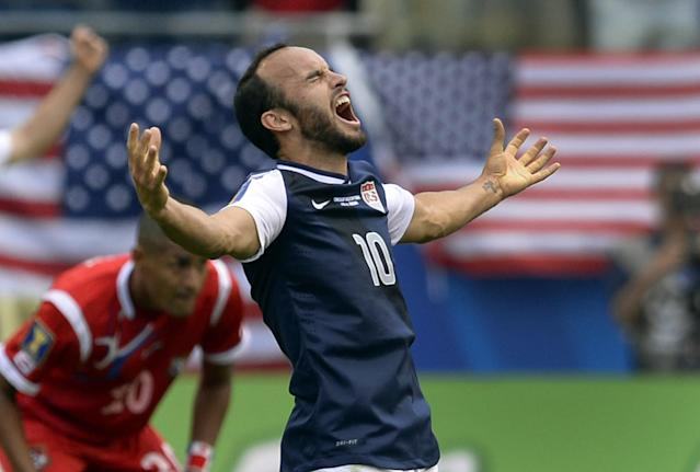 Landon Donovan was left off the 2014 World Cup squad, but not this one. (Photo credit should read TIMOTHY A. CLARY/AFP via Getty Images)