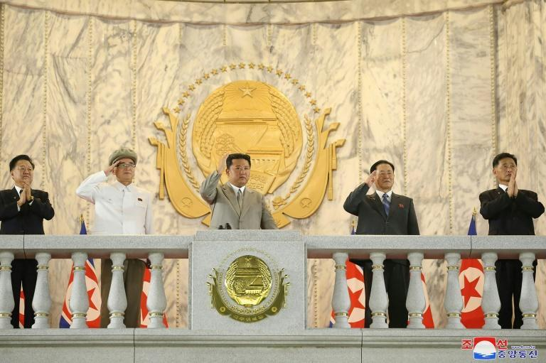 The parade marked the foundation day of the Democratic People's Republic of Korea, as the North is officially known (AFP/-)