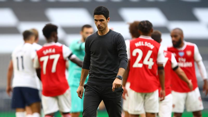 Arteta 'frustrated and disappointed' after 'massive blow' to Arsenal's European hopes