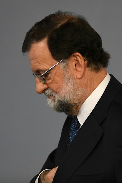 Spanish Prime Minister Mariano Rajoy said he had no choice but to take drastic measures against Catalonia's separatists