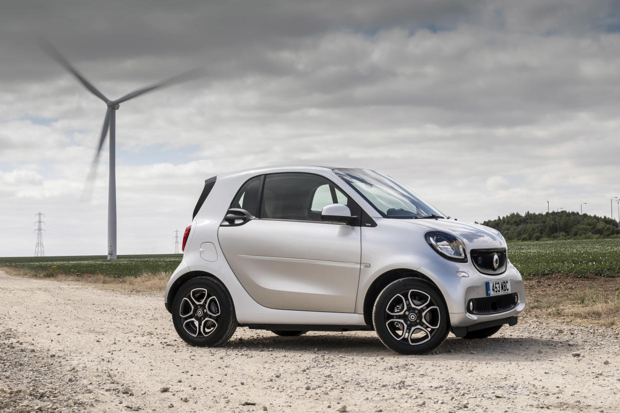 Smart's electric ForTwo is ideal for the city