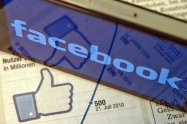 Picture of the Facebook logo
