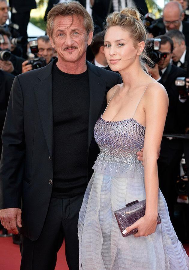 Sean and his daughter Dylan at Cannes Film Festival earlier this year. Source: Splash