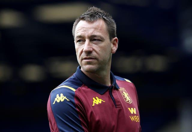John Terry has gained coaching experience as assistant at Aston Villa