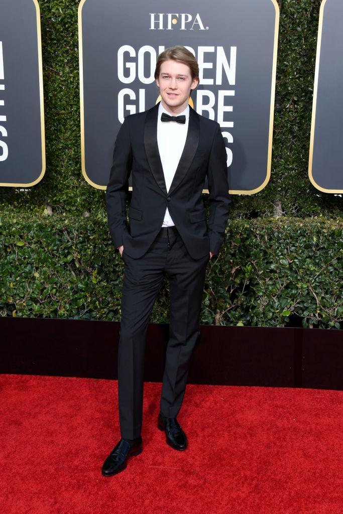 <p>Joe Alwyn attends the 76th Annual Golden Globe Awards at the Beverly Hilton Hotel in Beverly Hills, Calif., on Jan. 6, 2019. (Photo: Getty Images) </p>