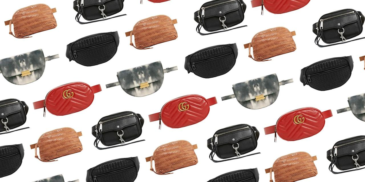 <p>The fanny pack—once synonymous with moms at amusement parks, paranoid tourists, and bad '90s fashion—has somehow (miraculously) returned to the sartorial forefront. And that really is a good thing. Miracles can happen: it's possible to look fashion-forward, chic, and have ease of movement because you're hands are literally free. It's a belt with more functions than simple cinching your waist. What more could you ask for. We have been loving belt bags since last summer, but these new iterations prove once and for all that the belt bag can in fact be a slim and chic fixture in your wardrobe.  Woven leather textures and original silhouettes breathe new life into a trend that is here to stay.  <strong> </strong><br></p><p>And just about every major designer, it seems, sent their own interpretation down the runway this season, and well, we are on board. Here are 10 of our top picks. </p>