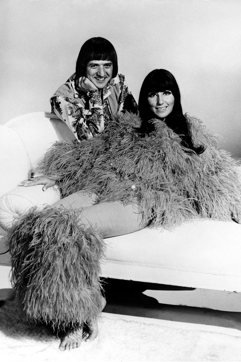 <p>When in doubt, add more feathers. It worked for Cher in 1960. </p>