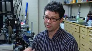 UPEI researcher Bill Whelan is using light and sound to detect prostate tumours.